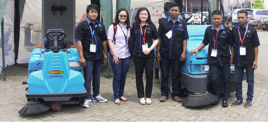 Mr. Agung Sindoro's team at Matra Sutra