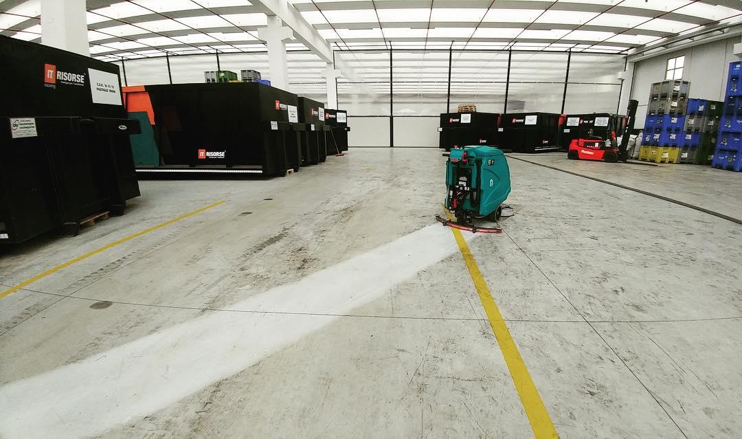 la calidad de nuestras máquinas para la limpieza de pavimentos