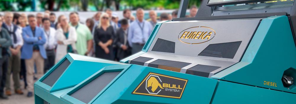 Eureka presenta la spazzatrice rivoluzionaria Bull 200
