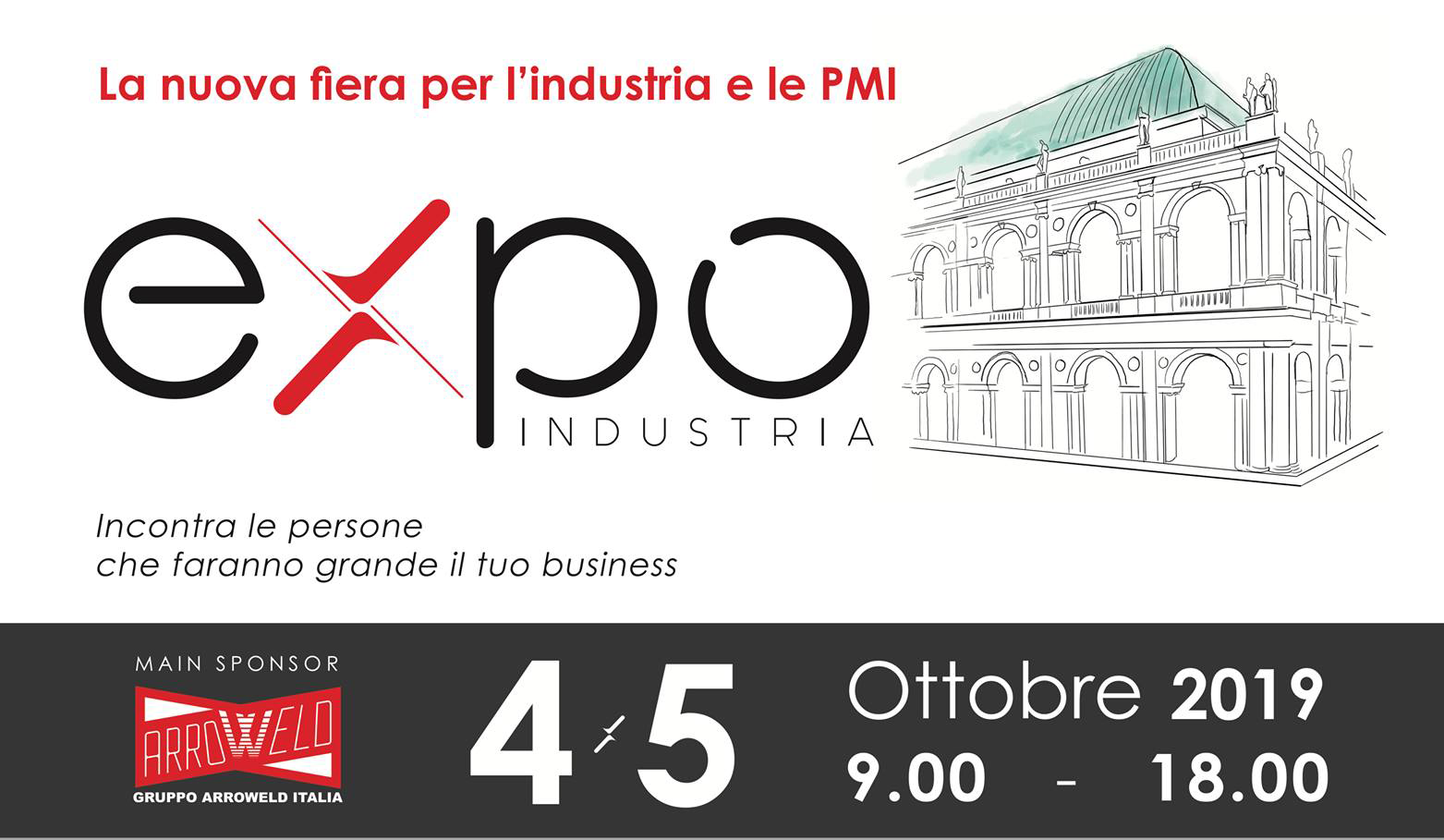 Eureka in Fiera a Vicenza per EXPO Industria 2019