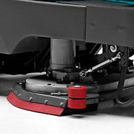 ADJUSTABLE BRUSH PRESSURE E85 SCRUBBER DRYER