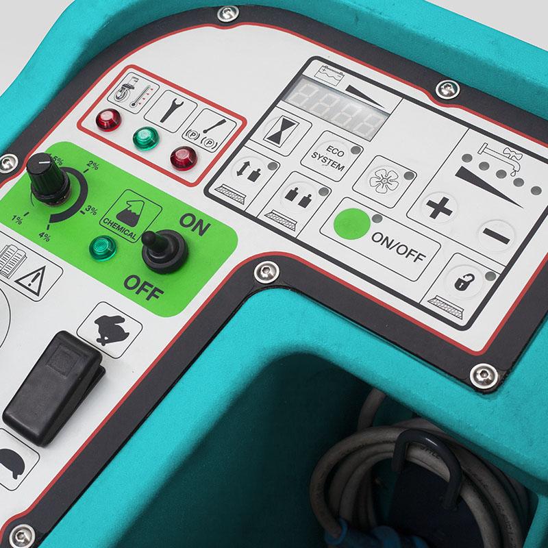 Eureka E110-R   Panel de control