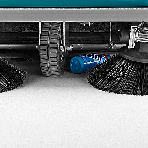 UP-FLAP DEVICE THE RIDER 1201 RIDE-ON SWEEPER