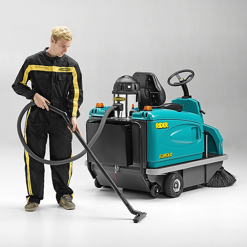 Rider 1201 Ride On Floor Sweeper Eureka