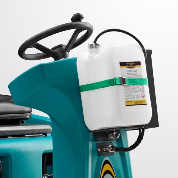 Eureka E85 scrubber with dosing system