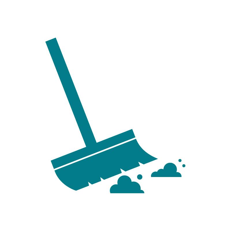 Limpieza en seco | EC52 Eureka limpia escaleras moviles