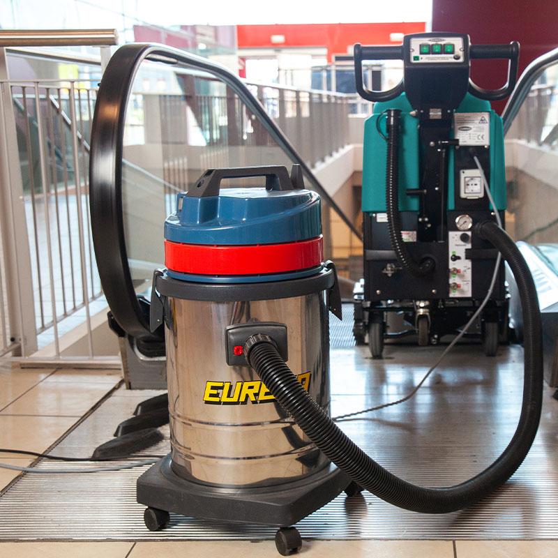 Aspirador auxiliar opcional - EC52 limpia escaleras moviles