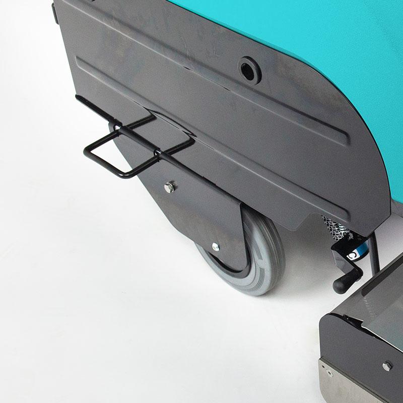 Handgriffe zum Anheben der Maschine und Räder für den einfachen Transport | EC52 Eureka