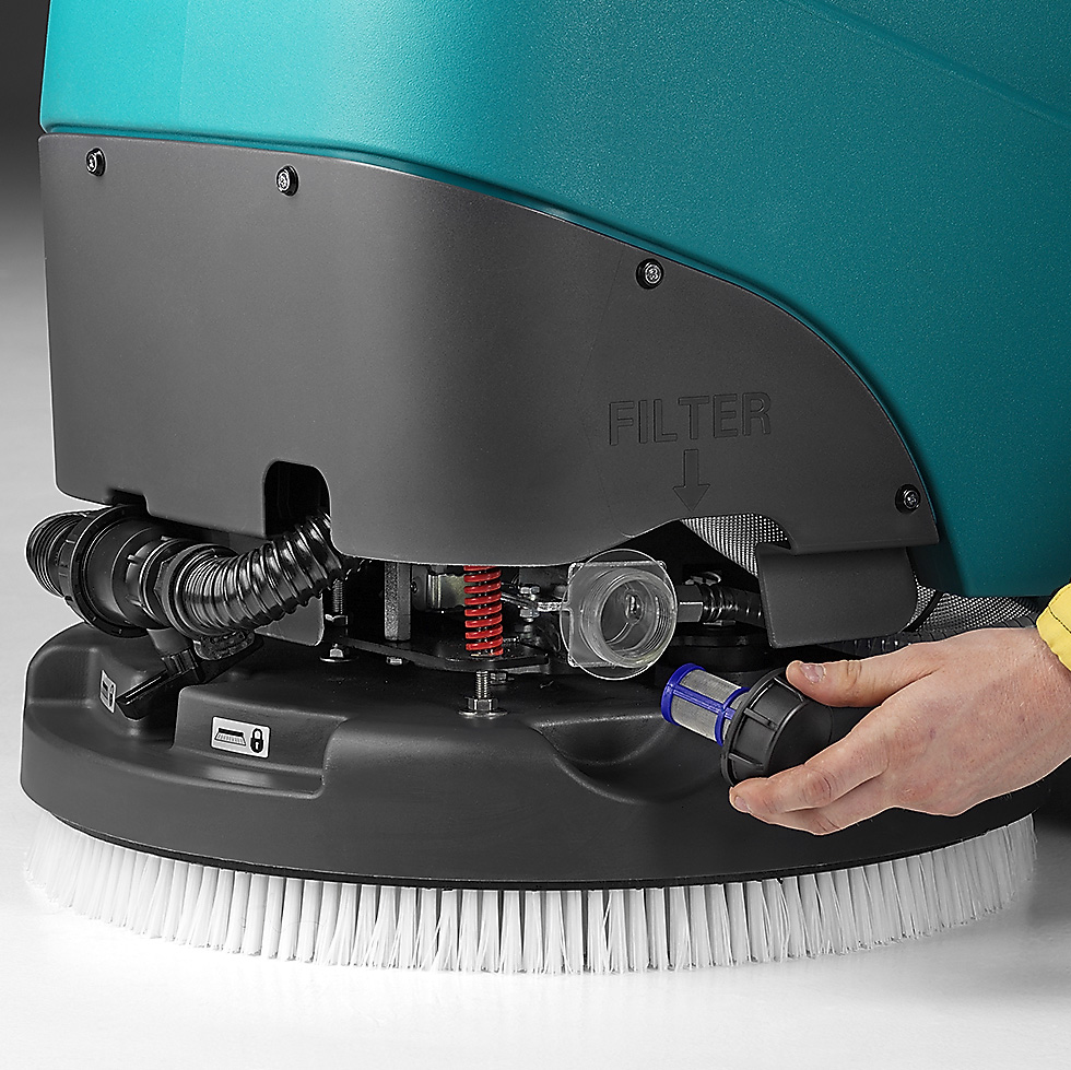 SOLUTION FILTER E50 WALK-BEHIND SCRUBBER-DRYER