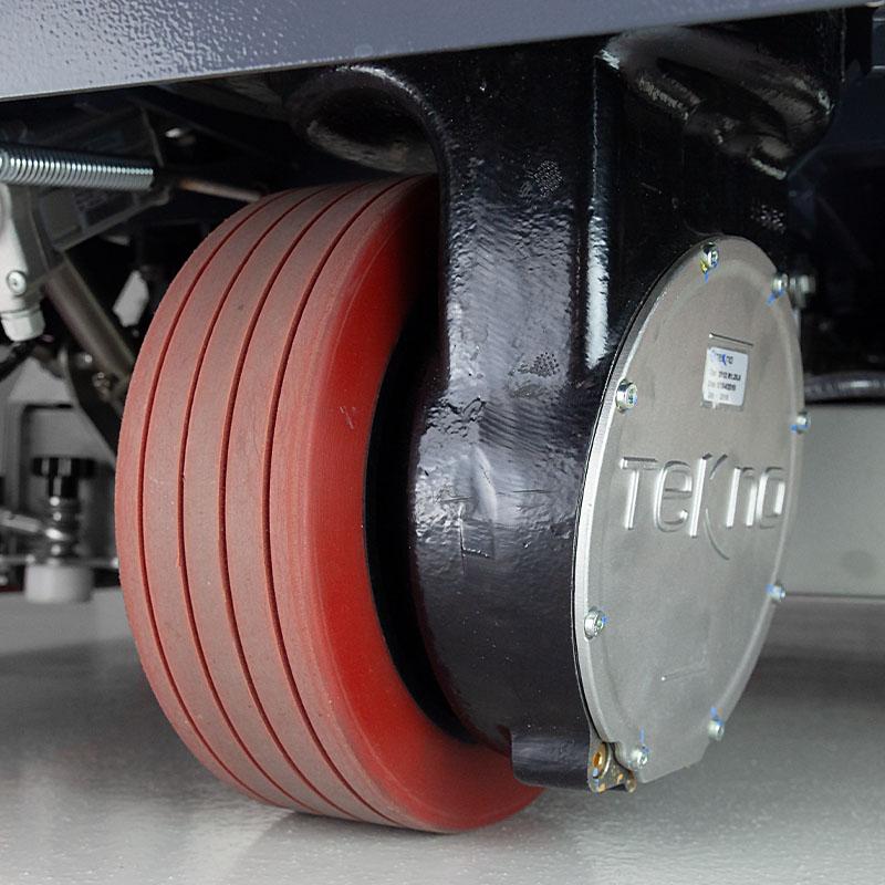 Vertikal über dem Vorderrad Fahrmotor | Eureka E110-R