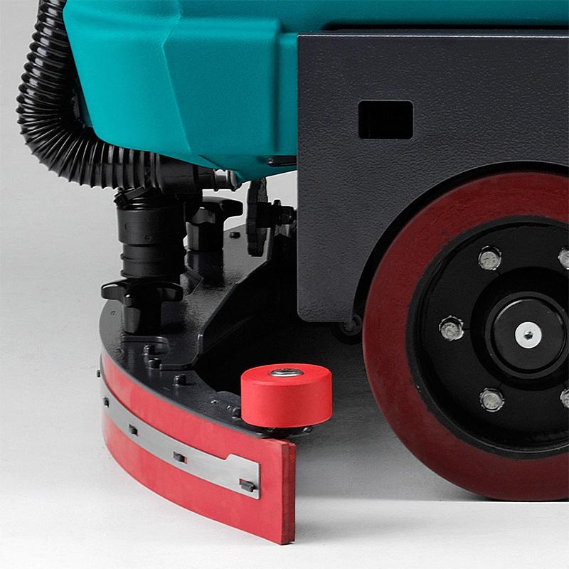 Trocknungssystem mit gleitenden Parabolwischern | E110-R EUreka combo maschine