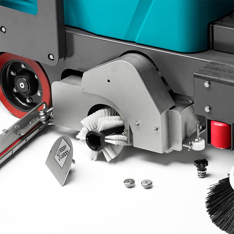 E110 R Eureka | Gruppo spazzante/lavante in acciaio inossidabile