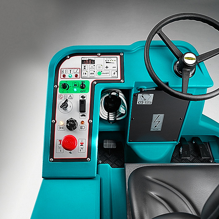 Eureka E110-R | Pannello di controllo