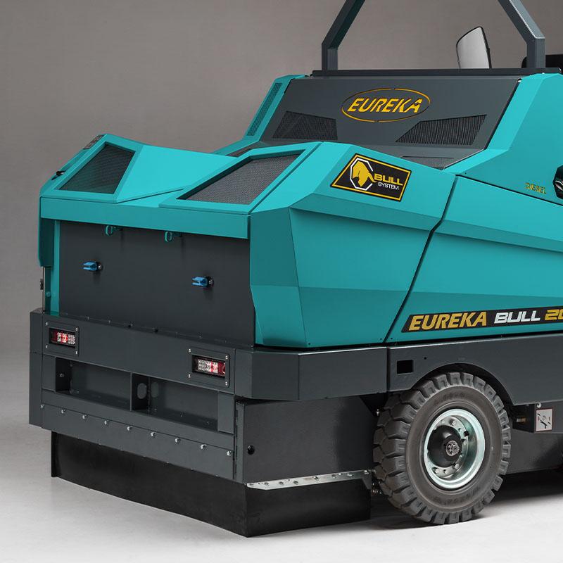 Eureka Bull 200 | telaio e carrozzeria in acciaio
