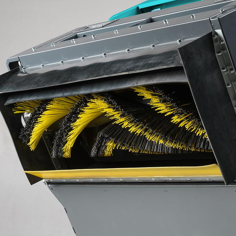 Tecnologia MultiBristle per le spazzole Eureka della BULL 200