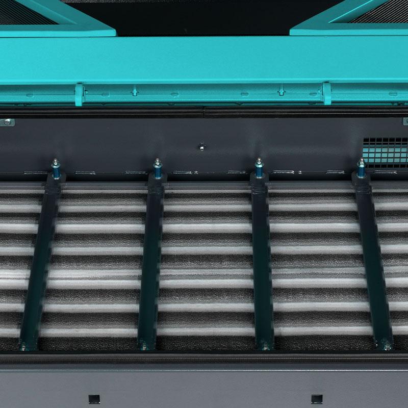 Bull 200   Limpieza automática del filtro.