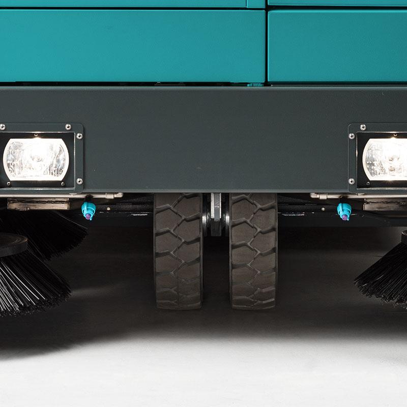 BULL 200 Eureka | Jumelage des roues avant indépendantes