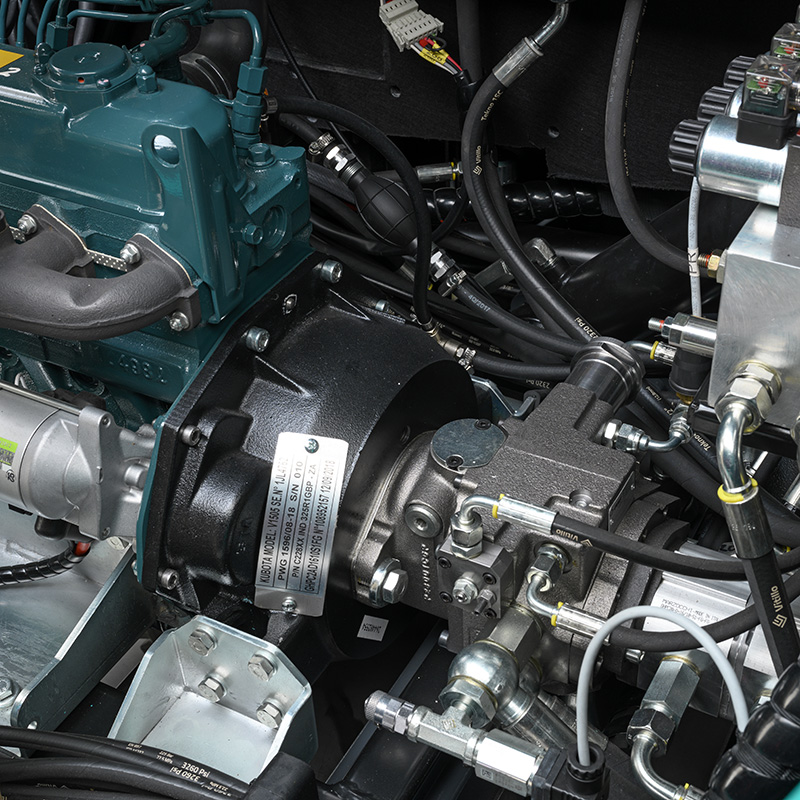 Eureka BULL 200 | Kubota motor
