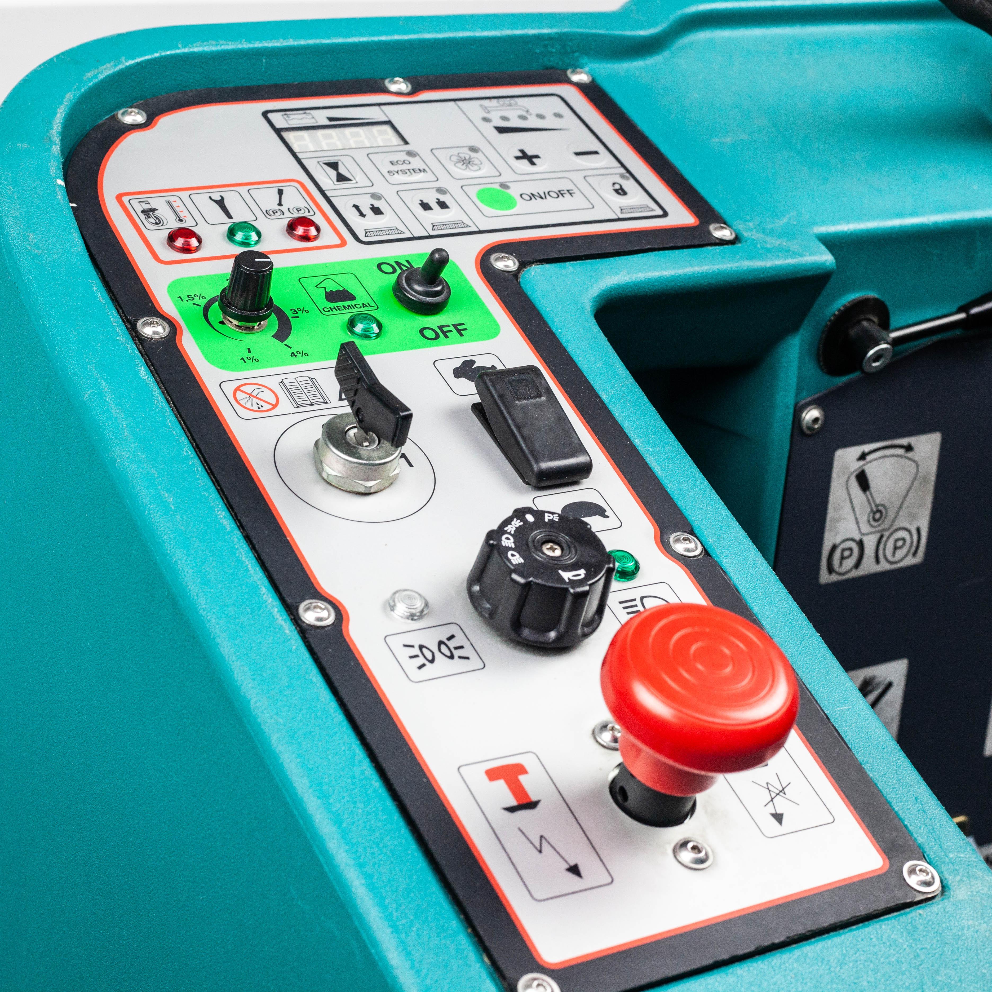 Control Panel | EUREKA E110 -R