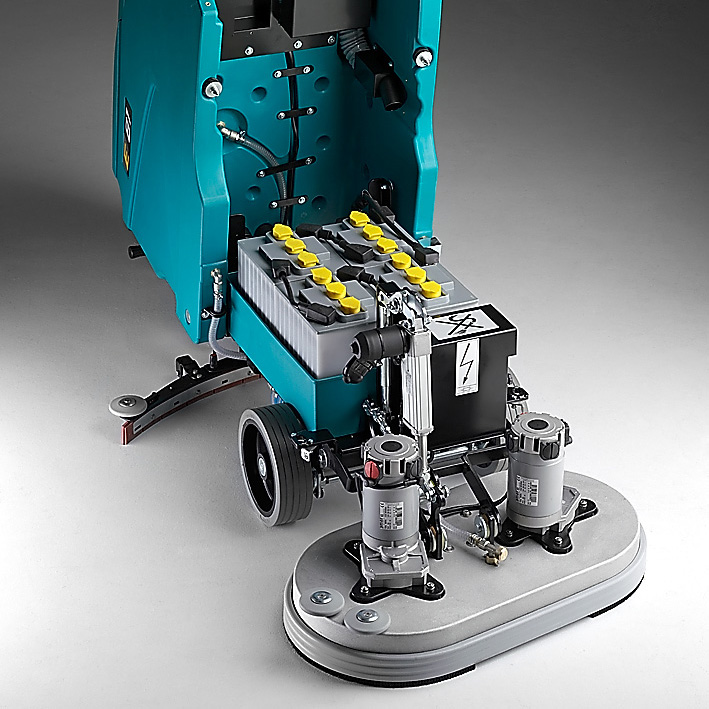 ROBUST STRUCTURE E81 PROFESSIONAL WALK-BEHIND SCRUBBER-DRYER