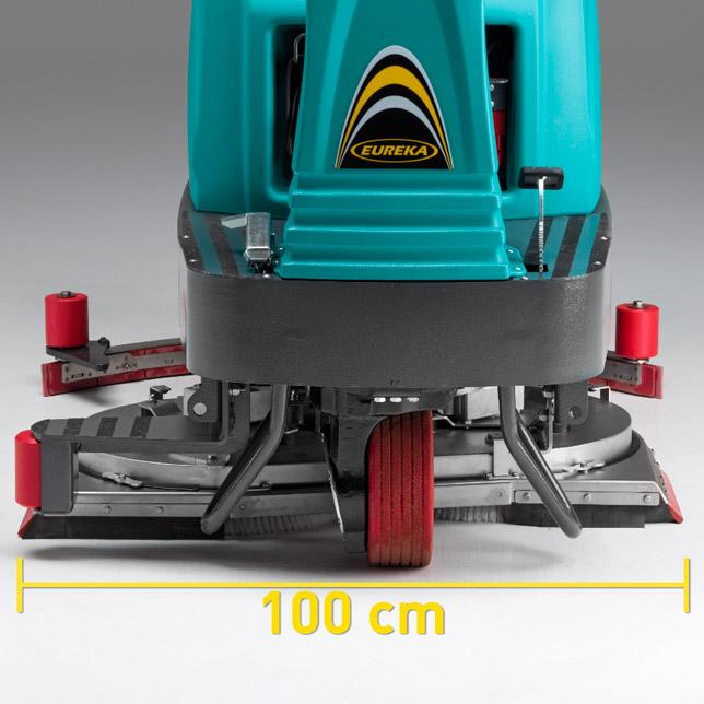 ANCHO DE FREGADO DE 1 METRO - EUREKA E100 fregadora
