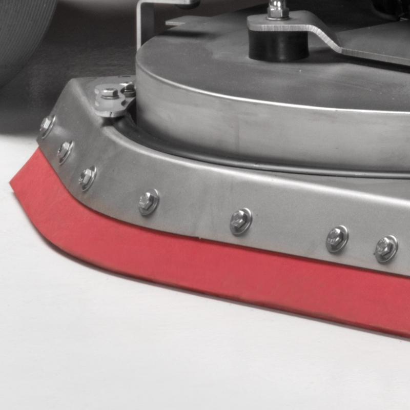 SELF-LEVELLING SPLASHGUARD Eureka E100