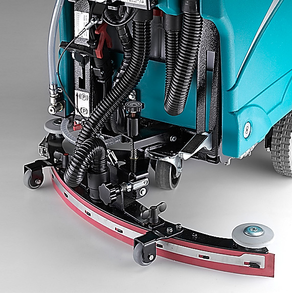 THE DRYING SYSTEM E71 WALK-BEHIND SCRUBBER-DRYER