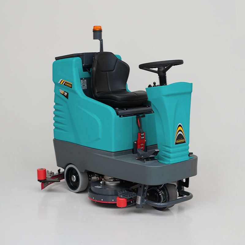 Eureka Scrubber dryer with High Capacity Tanks