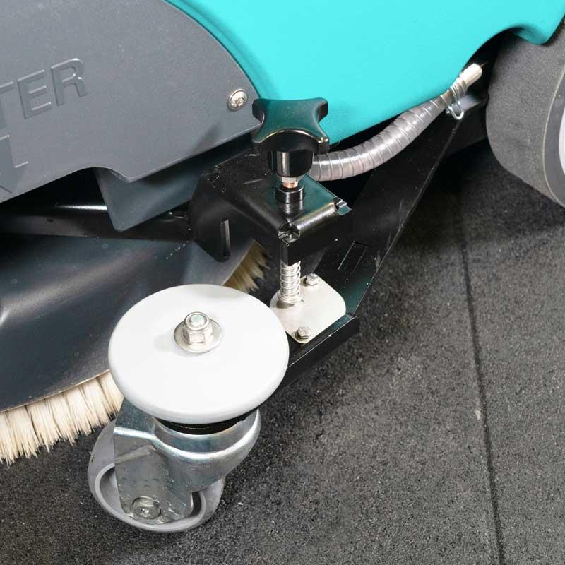 Kit pressione Spazzola per pulizie su pavimenti gommati