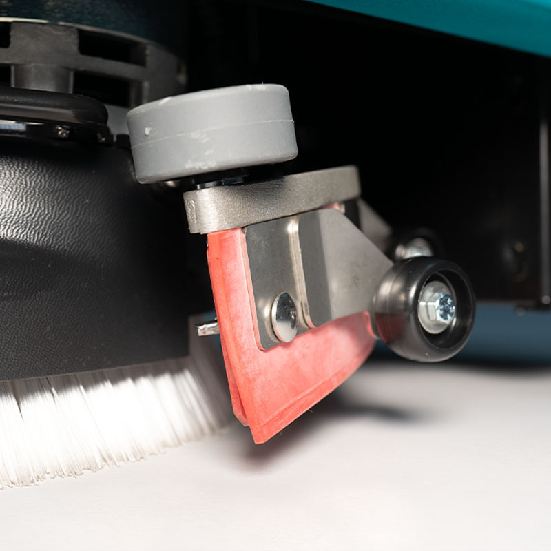 EXCELLENT WATER PICK-UP E36 SMALL ENCUMBRANCE WALK BEHIND SCRUBBER-DRYER