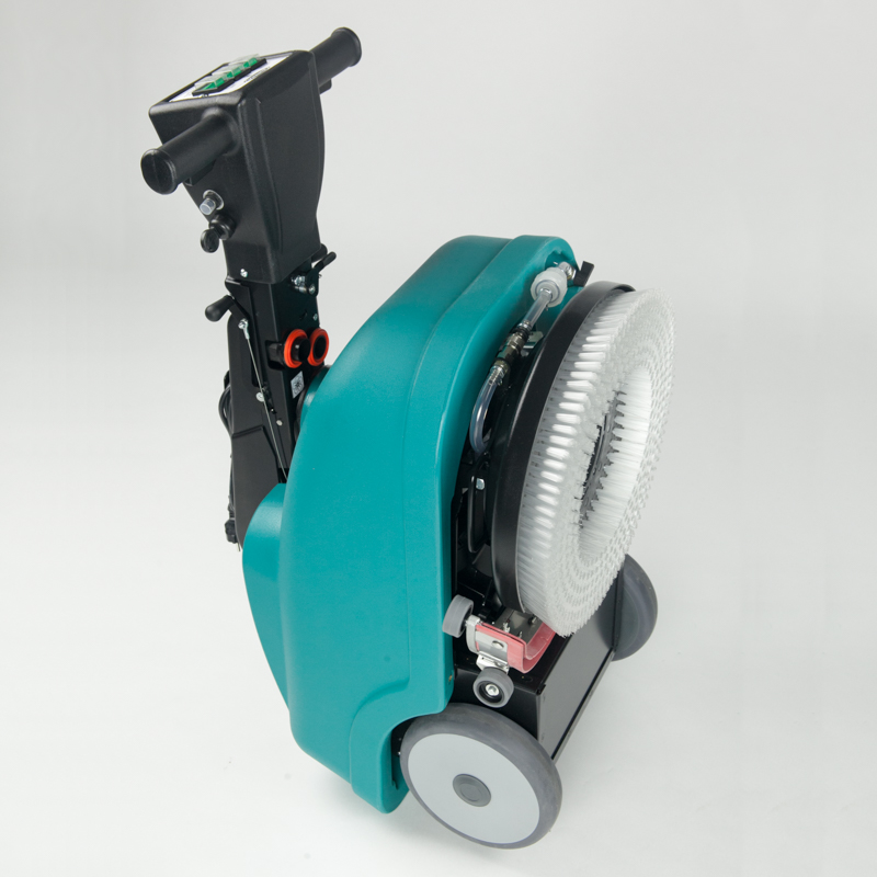 COMPACT & EASY TO FOLD E36 COMPACT WALK BEHIND SCRUBBER-DRYER