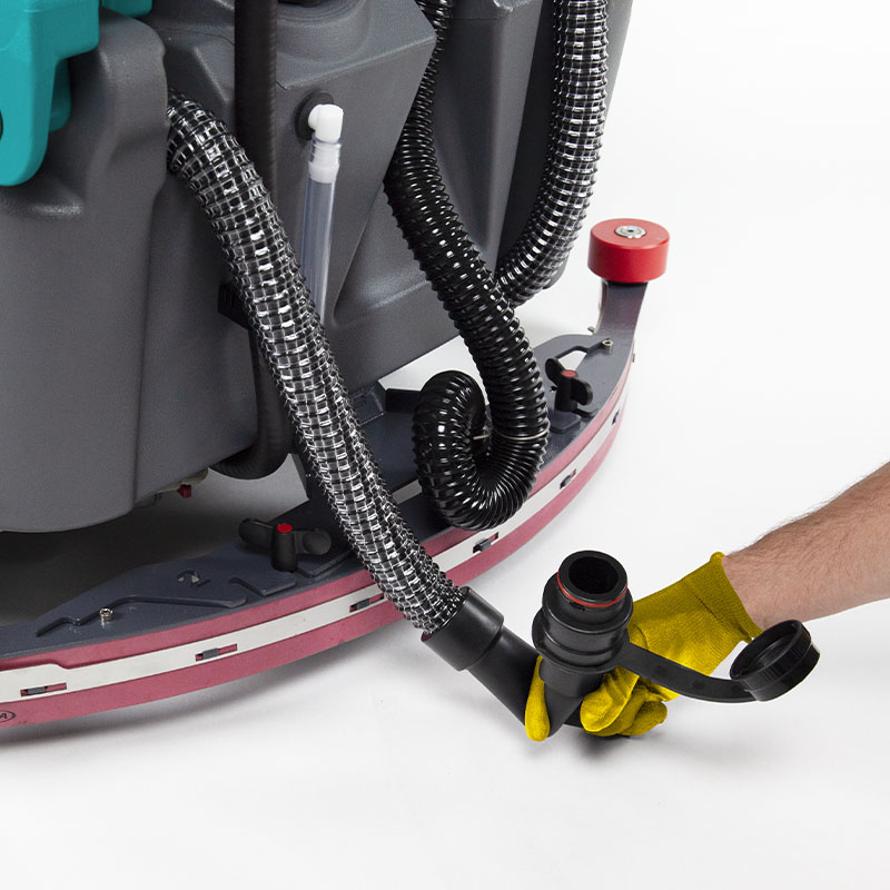 FLEXIBLE DRAIN HOSE END E85 SCRUBBER DRYER