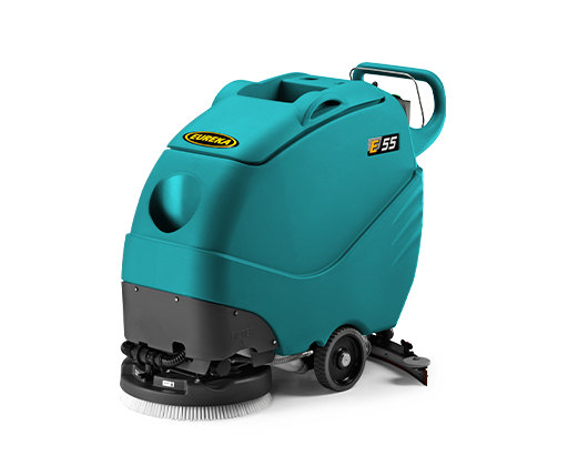 E55 SCRUBBER-DRYER, IMPRESSIVE JANITORIAL CLEANING MACHINE