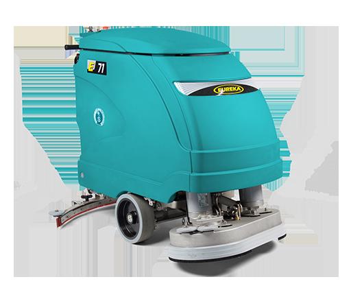 macchina per pulizia pavimento industriale Eureka E71
