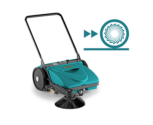 Picobello 151 Ecovac®  BARREDORA MANUAL  capaz de controlar el polvo