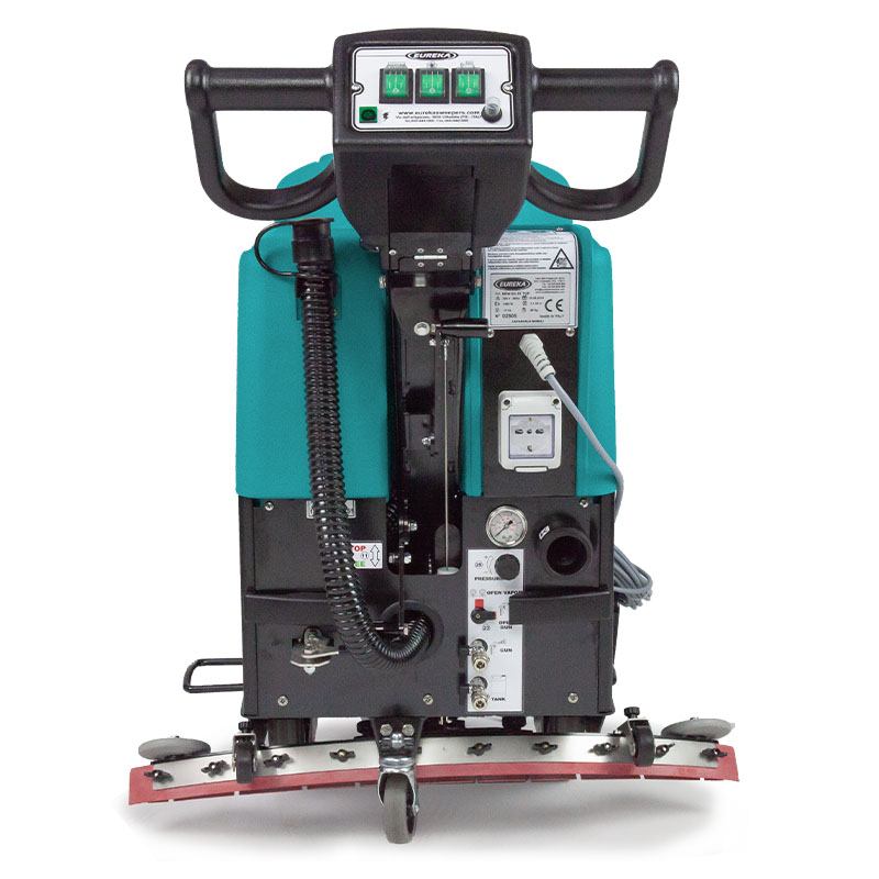 Kehr- Scheuersaugmaschine für Rolltreppen und Laufbänder EC52 Eureka