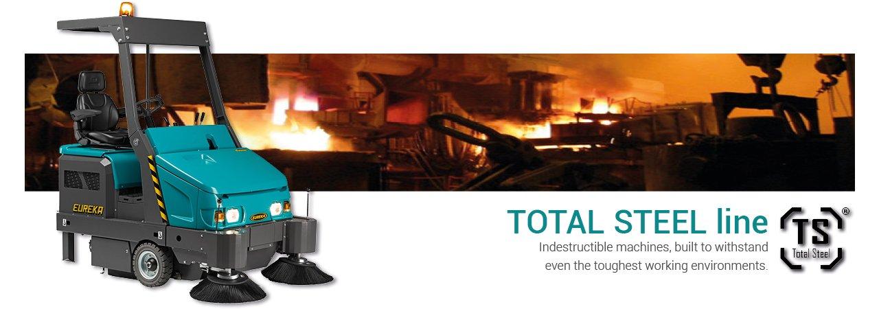 Eureka Totale Steel Sweeper Line