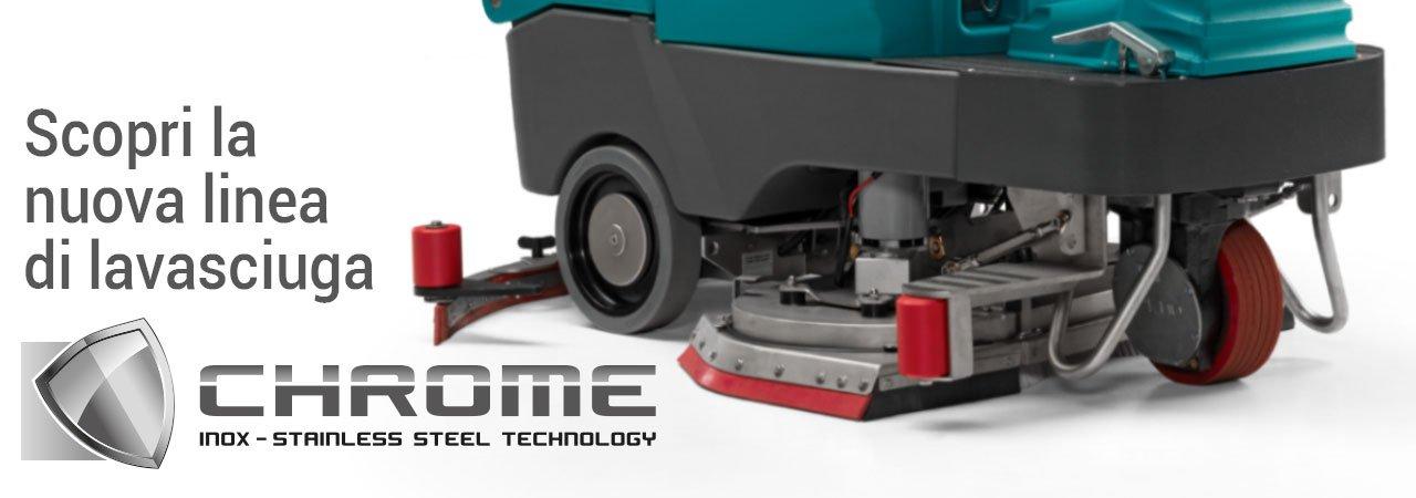lavasciuga pavimenti in acciaio inossidabile | Eureka