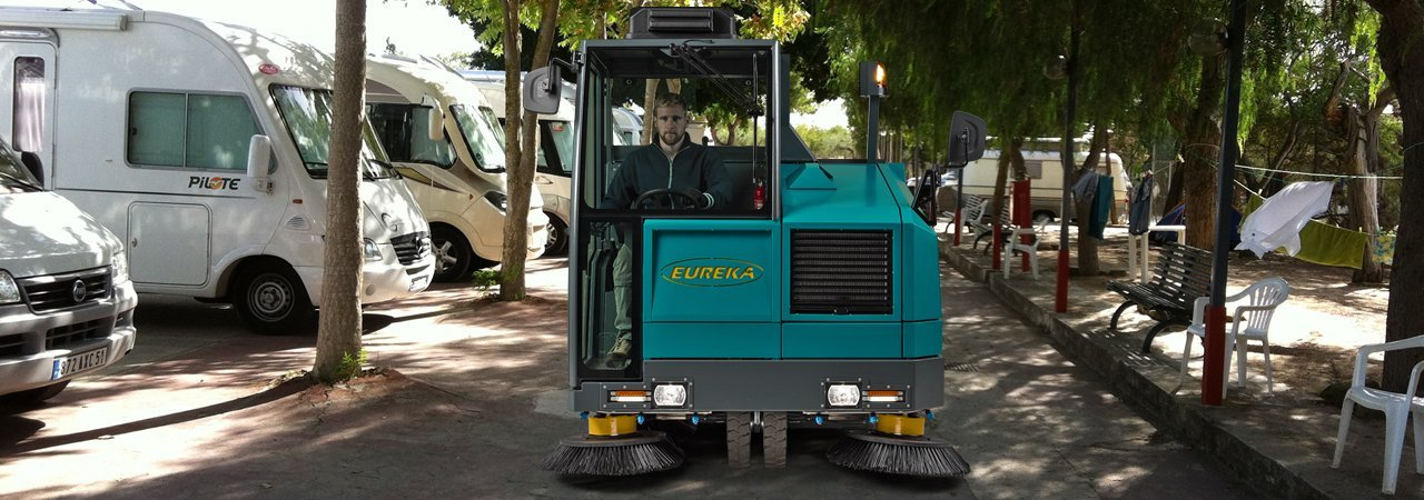Eureka Sweepers | Cleaning in holiday resort locations: camp sites, tourist villages, hotel complexes…