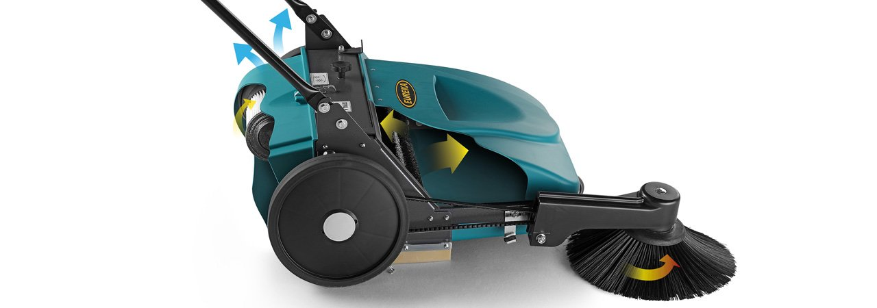 eureka sweepers ecovac filtering system