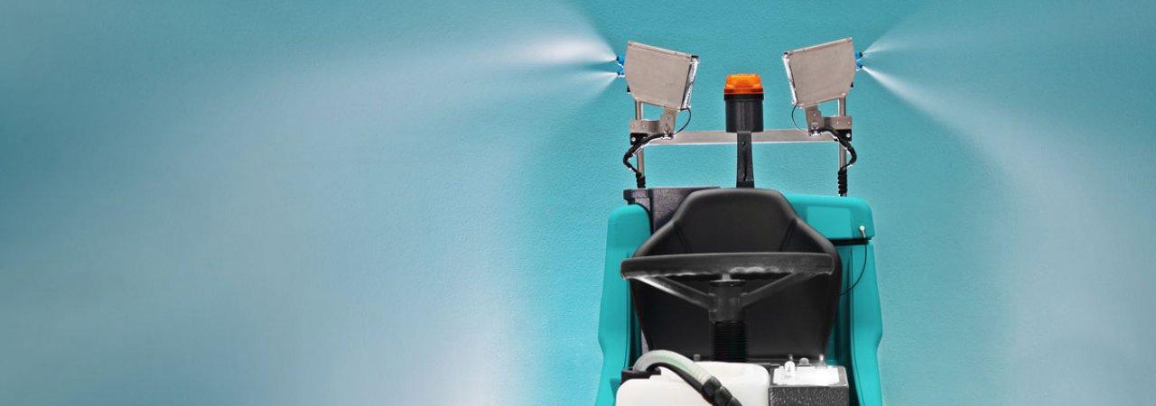 Garantizar una completa y efectiva desinfección del lugar de trabajo | Fregadoras Eureka