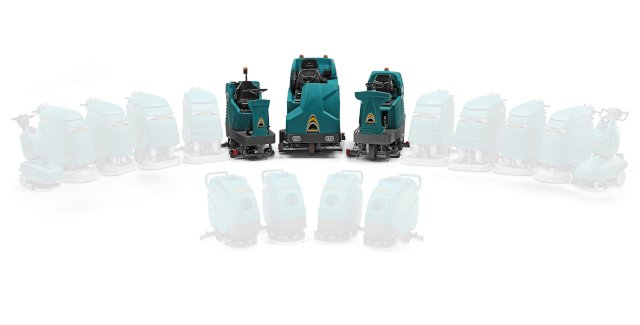 Discover Eureka's ride on scrubber dryers