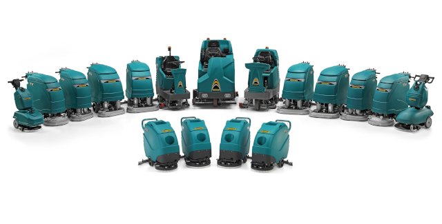 Discover Eureka's battery powered scrubber dryers