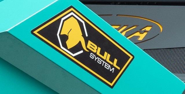 Eureka BULL 200 ist die erste Kehrmaschine mit BULLsystem®-Technologie