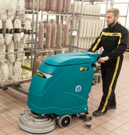 E51 PROFESSIONAL WALK-BEHIND SCRUBBER DRYER