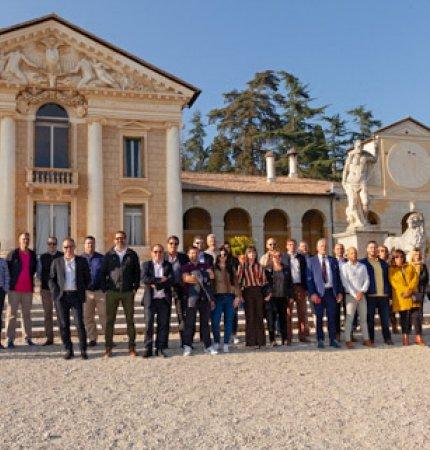 Gruppo Nou Colors Eureka in visita a Villa Maser
