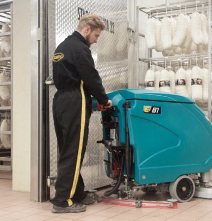 E81 PROFESSIONAL FLOOR CLEANING MACHINE