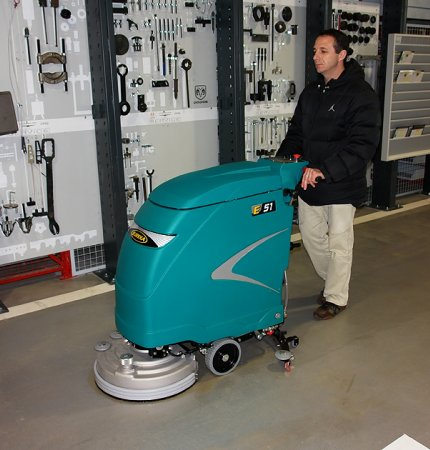 ECONOMY + ECOLOGY E51 WALK-BEHIND SCRUBBER-DRYER