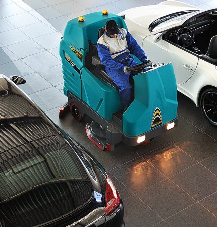 E110 RIDE-ON SCRUBBER-DRYER