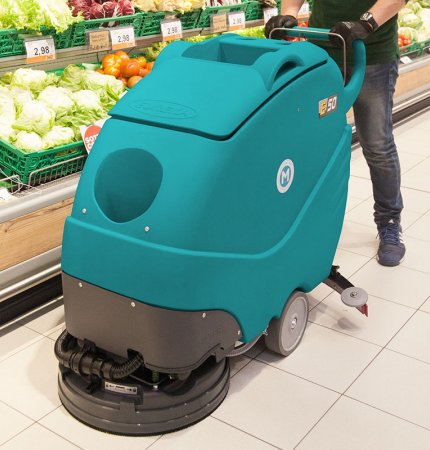 EASY E50 WALK-BEHIND SCRUBBER-DRYER